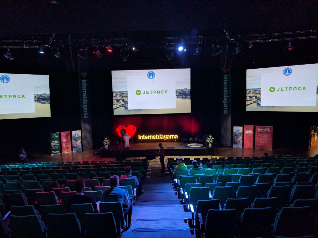 WordCamp 2016 i Stockholm på Internetdagarna