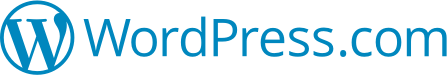 Logga för företaget WordPress.com